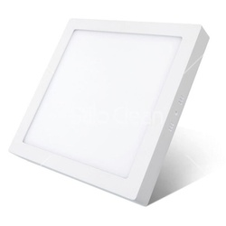Painel LED Embutir Quadrado 24W Bivolt 6500K 54112... - Meta Materiais Elétricos Ltda
