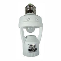 Sensor de Presença Soquete E27 360g com Fotocélula... - Meta Materiais Elétricos Ltda