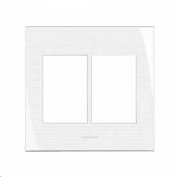 Placa 4x4 6 Módulos c/Suporte 85006 - Inova Pró - Meta Materiais Elétricos Ltda
