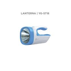 Lanterna Recarregável 12 Leds 2W 146LM YG-5718 - Meta Materiais Elétricos Ltda