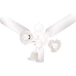 Ventilador de Teto New Beta 127V Branco - VENTIDEL... - Meta Materiais Elétricos Ltda