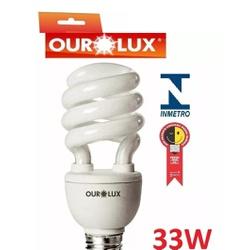 LÂMPADA ESPIRAL 33W 127V BRANCA 4246 - OUROLUX - Meta Materiais Elétricos Ltda