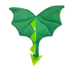 Fantasia asa dragão baby verde