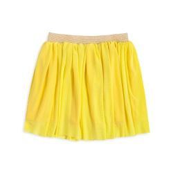 Vestuário infantil Saia tule Amarelo abacaxi
