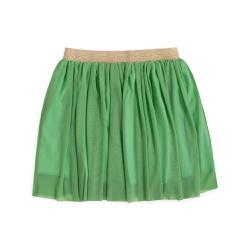 Vestuário infantil Saia tule Verde claro