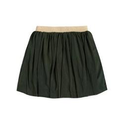 Vestuário infantil Saia tule Verde floresta