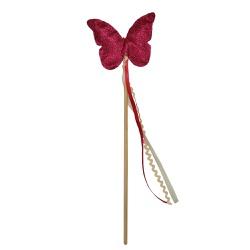 Varinha borboleta pink
