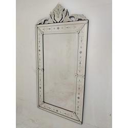 Espelho Pena Grande Antigo - Moldura Trabalhada - ... - MOVEIS ANTIGUS