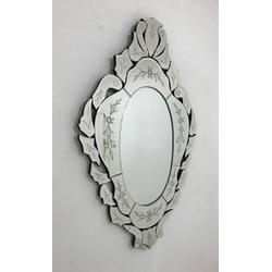 Espelho Dolores - Moldura Trabalhada - 41 - MOVEIS ANTIGUS