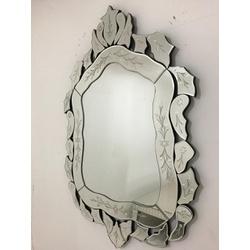 Espelho Clarice - Moldura Trabalhada - 43 - MOVEIS ANTIGUS