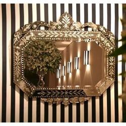 Espelho Oitavado Grande Plus - 05 - MOVEIS ANTIGUS