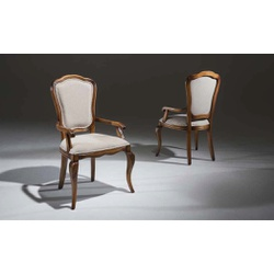 Cadeira Enc. Tecido C/ Braço - Linha Hillux - 6249 - MOVEIS ANTIGUS