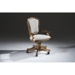 Cadeira Hillux Para Escritório Giratória Em Madeir... - MOVEIS ANTIGUS