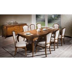 Sala de jantar Com Mesa De 2,50m, 8 Cadeiras e Bal... - MOVEIS ANTIGUS