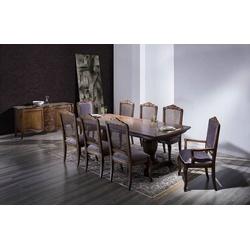Conjunto Avi Com Mesa De 2,50m, 8 Cadeiras e Balcã... - MOVEIS ANTIGUS