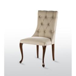 Cadeira Luce Captonê Pé Luis XV - 1083 - MOVEIS ANTIGUS