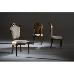 Cadeira Luxo Sem Braço Enc. Tecido - 6279 - MOVEIS ANTIGUS