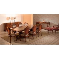 Sala De Jantar Com Mesa, 8 Cadeiras, 1 Balcão e 1 ... - MOVEIS ANTIGUS