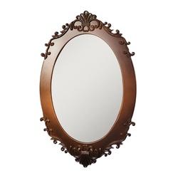Espelho Oval Vintage - PMV04022U - MOVEIS ANTIGUS