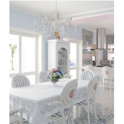 Conjunto Mesa de Jantar Rocale com 6 Cadeiras Meda... - MOVEIS ANTIGUS