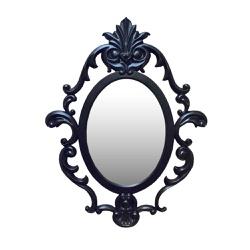 Espelho Oval Lavanda - PMV04030U - MOVEIS ANTIGUS