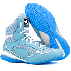 Bota de Treino Musculação Mr Gutt Cano Curto Azul ... - Mr. Gutt
