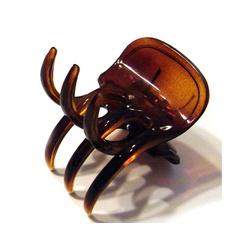Prendedor Pequeno 3,5x4,0cm Tartaruga de Acetato M... - MUSAKALL