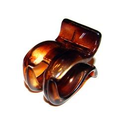 Prendedor Pequeno 4,0x3,0cm Tartaruga de Acetato M... - MUSAKALL