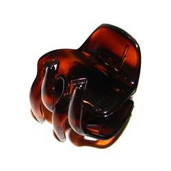 Prendedor Pequeno 4,0x3,5cm Tartaruga de Acetato M... - MUSAKALL