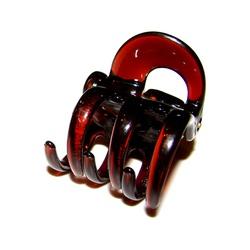 Prendedor Pequeno 3,0x3,0cm Tartaruga de Acetato M... - MUSAKALL