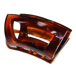 Prendedor Pequeno 4,0x2,5cm Tartaruga de Acetato M... - MUSAKALL