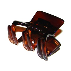 Prendedor Pequeno 5,0x3,0cm Tartaruga de Acetato M... - MUSAKALL