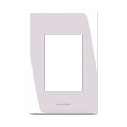 Placa 4x2 3 Modulos Branco - Inova Pro - Nicolucci