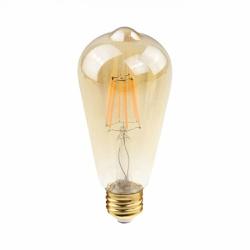 Lâmpada Filamento LED Retro ST58 E27 2W Bivolt 240... - Nicolucci