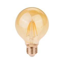 Lâmpada Filamento LED Retro G80 E27 2W Bivolt 2400... - Nicolucci