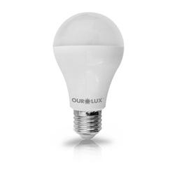 Lâmpada Bulbo LED 9W/6500K Bivolt Ourolux - Nicolucci