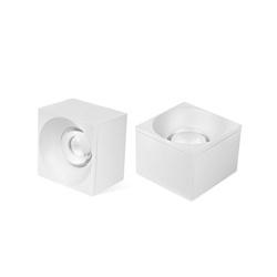 Spot Sobrepor LED Quadrado Branco Delis - Nicolucci