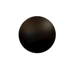Arandela Disco Externa Preto - 12W - Nicolucci