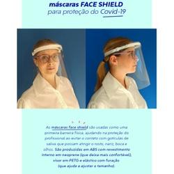 Máscara Protetora Facial Face Sheild - Nicolucci