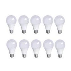 KIT 10 LÂMPADAS LED BULBO A60 9W 6000 K LEDBEE - Nicolucci