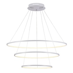 Pendente Birdie Dourado Ø80cm Bella Com 3 LEDs Int... - Nicolucci