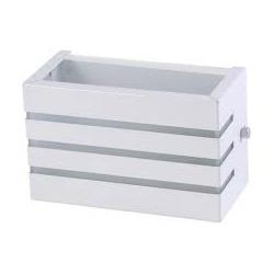 Arandela Alumínio Friso Branco Brilho Bady Lux - Nicolucci