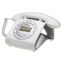 Telefone Com Fio Retrô Intelbras TC 8312 Branco - Nicolucci