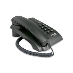 Telefone Intelbras Com Fio Pleno Preto - Nicolucci