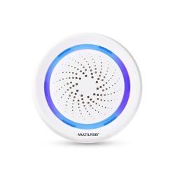 Sirene de Alarme Inteligente Wi-Fi - Multilaser Li... - Nicolucci
