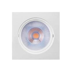 Spot Embutir Quadrado LED Integrado Branco Brilia ... - Nicolucci