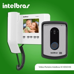 Video Porteiro IV4010 HS/Color Intelbras - Nicolucci