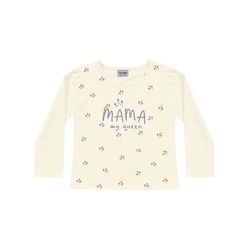 Blusa Manga Longa Fakini Bebê Feminina Mama My Que... - Nilza Baby Kids