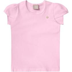 Blusa Milon Infantil Feminina Rosa - 49268-Ro - Nilza Baby Kids