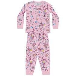 Pijama Manga Longa Fakini Bebê Feminino Tamanho 1-... - Nilza Baby Kids